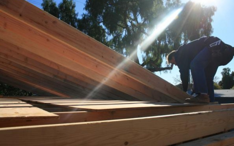 Framing of Roof