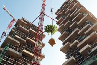 Twin buildings considered the world's first vertical forest