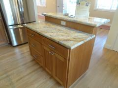 Remodeled Stone Counter Top