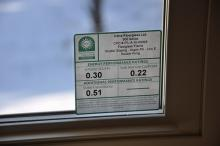Window label